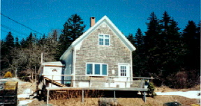 Basin House Vacation Rental Home on Vinalhaven Island