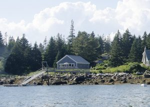 Cottage Vacation Rental Home on Old Harbor's working waterfornt