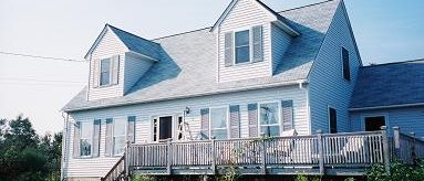 Family Vacation Rental Home on Vinalhaven Island Robert's Harbor Sleeps: 6 Price: $1,200/week Cleaning Fee: No Wi-Fi: No TV: Cable Amenities: Washer, dryer, and dishwasher Pets:  No