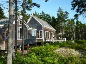 Simple Cottage and Camping Vacation Rental on the Thorofare in Vinalhaven