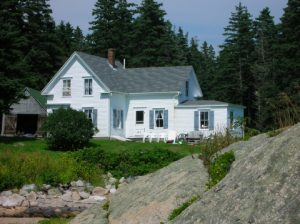 Granite Island Farmhouse Vacation Rental in Vinalhaven